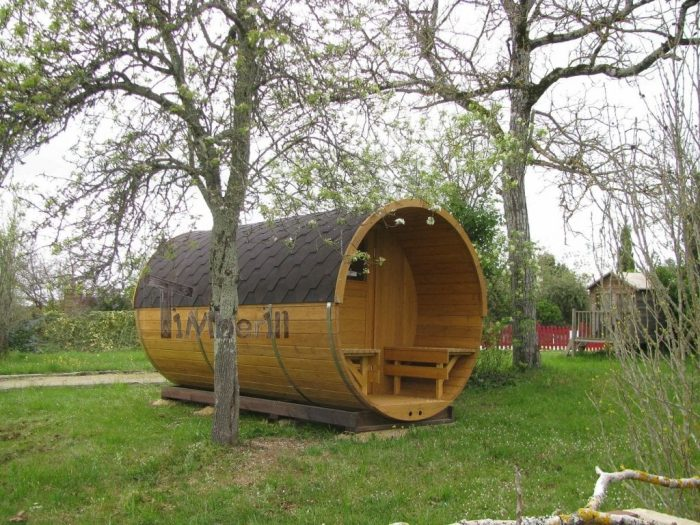Saunas Extérieur Tonneau, Joël, GOURDON, France (8)