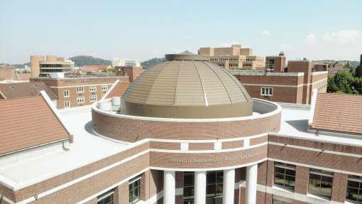 Baker Building at UT Cupola