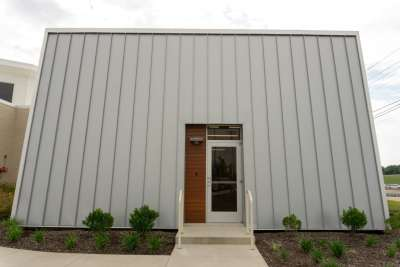 Tennessee Cancer Specialists standing seam wall panel