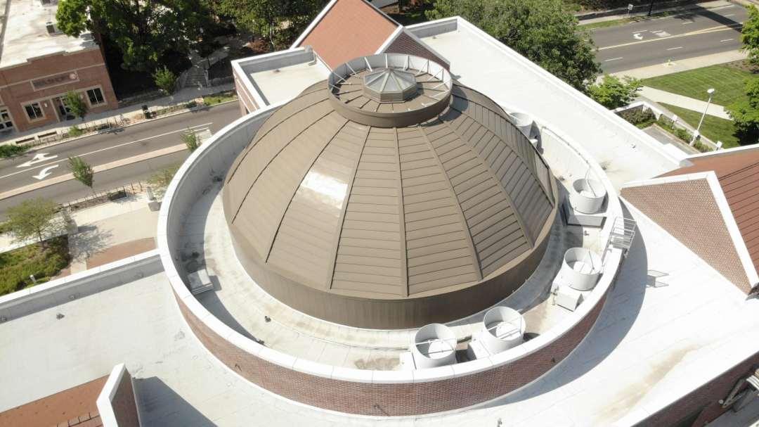 UT Baker Building cupola image