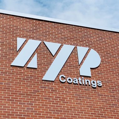ZYP Coatings Sign