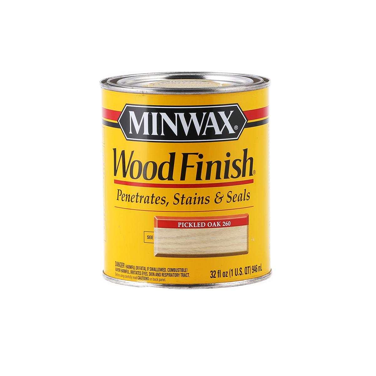 Pickled Oak Minwax Stain
