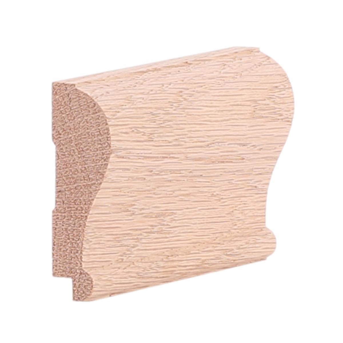oak chair rail small slipper 3 4 quot x 2 8 red modern w rabbet b400r