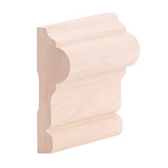 Chair Rail Profiles Caps Covers 1 16 Quot X 3 2 Hard Maple Colonial B403
