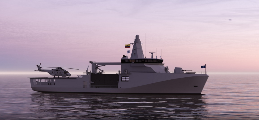 Fassmer design selected for future Ecuadorian Navy combat vessels