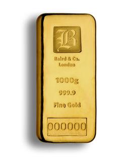 gold bars baird co