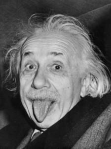 La foto de Einstein sacando la lengua se volvió icónica.
