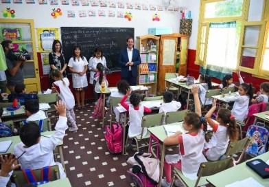 Sujarchuk dio inicio al ciclo lectivo 2018 en escuelas públicas y privadas