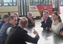 Macri y Vidal, junto a Tagliaferro, anunciaron la construcción de cuatro nuevos ramales del Metrobus