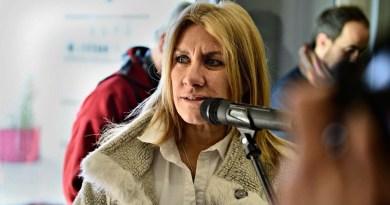 Lordén participó de la inauguración de la obra de un Centro de Salud en Benito Juárez