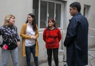 Jorge Macri recorrió la obra de 24 nuevas viviendas en el Barrio Gándara
