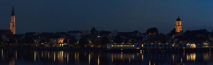 Vilshofen, St. Johannes, Stadtturm und Schweiklberg