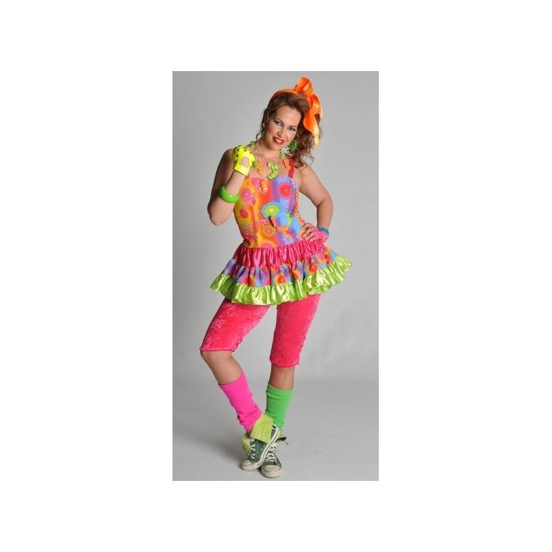 Dguisement Disco Freak Robe Annes 80 Femme