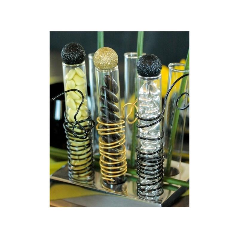 Eprouvette en verre transparent 15 cm tube a drages tube a essai i