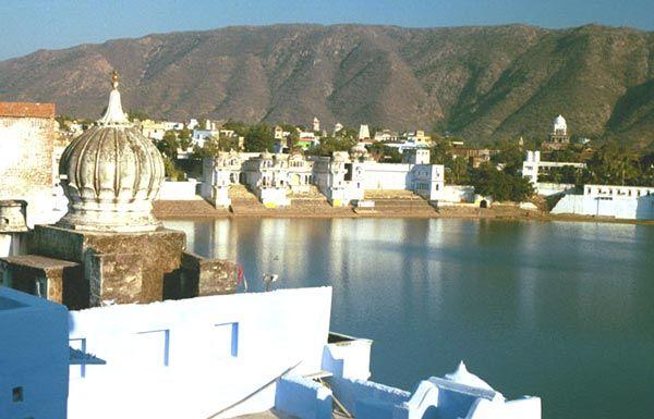 المدينة الوردية جايبور والفن المعماري بالهند -الزرقاء