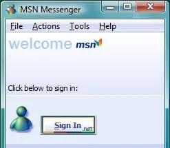 O MSN Messenger 5: mais cuidado com cores e com o visual.