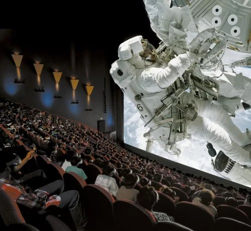 IMAX: cenas em terceira diemnsão proporcionam maior realismo