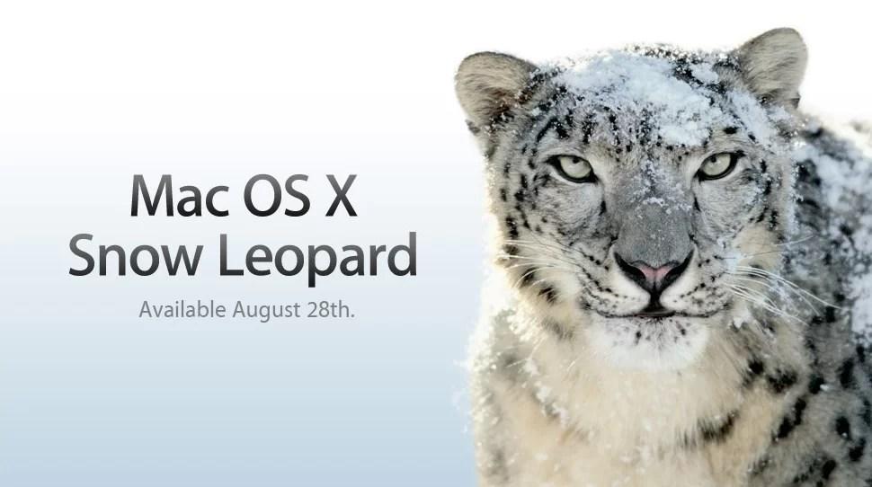 Mac OSX Snow Leopard