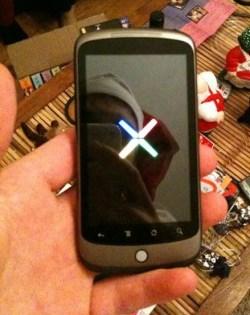Primeiras imagens do Google Phone