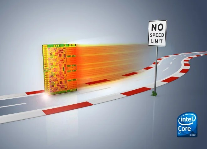 Intel Core i7 - Sem limite de velocidade