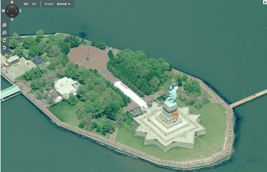 Birds Eye do Bing Maps