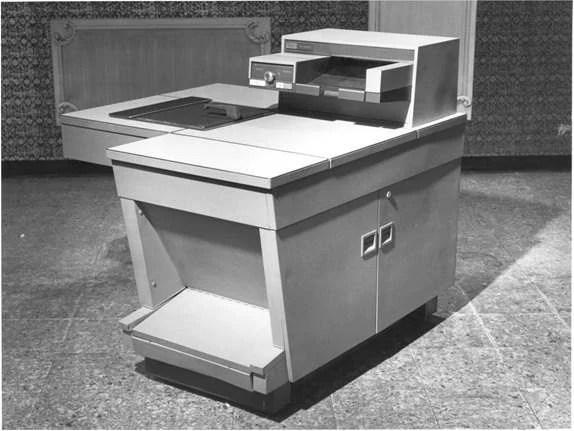 A 914, primeira  copiadora da Xerox
