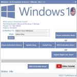 Ativador Permanente Windows 10 – Ultimate 2.4