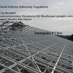 Harga Rangka Baja Ringan Di Yogyakarta Greenhouse Indmira Greehouse Bajaku