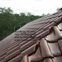 Baja Ringan Lengkung Atap Rumah Dengan Genteng Keramik – Bajaku