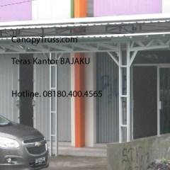 Kanopi Baja Ringan Yogyakarta Murah Dari Bajaku