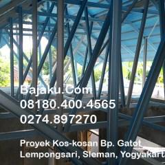 Distributor Atap Baja Ringan Yogyakarta Bluescope Bajaku Proyek Di Lempongsari Sleman ...
