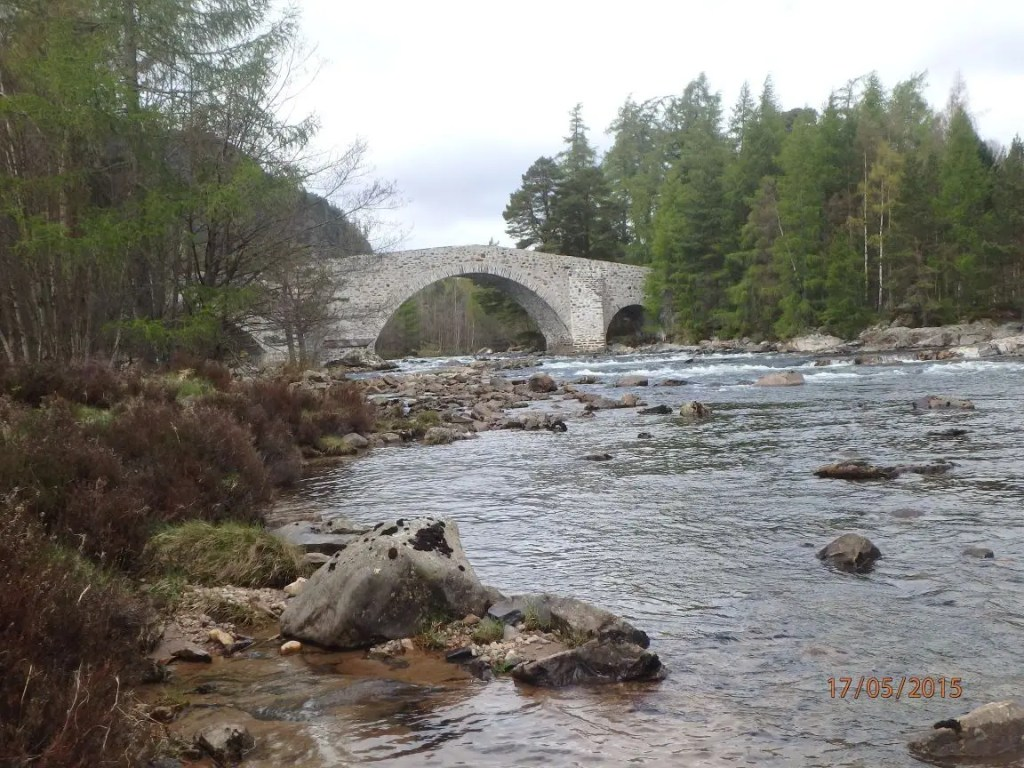 Invercauld Bridge.