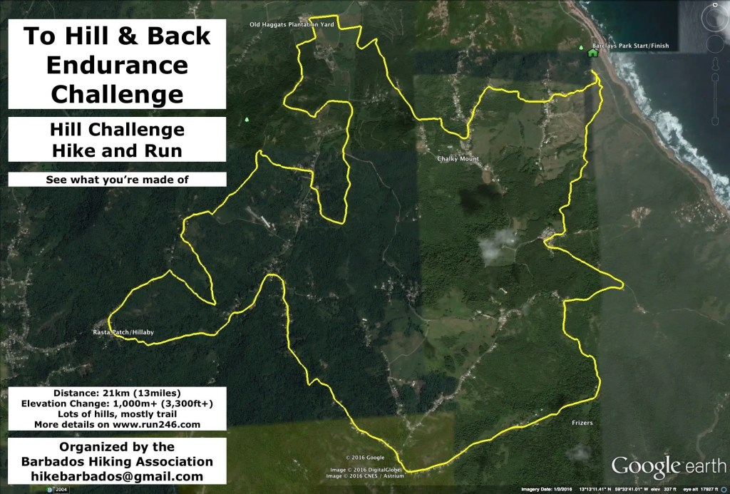 2016 Hill Challenge - Route