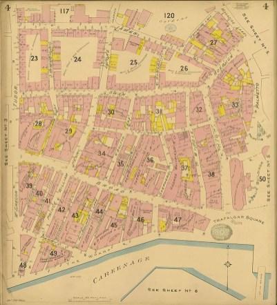 Chas. F. Goad, Civil Engineer; London - Bridgetown and Suburbs 1895 Sheet 4 of 6British Library