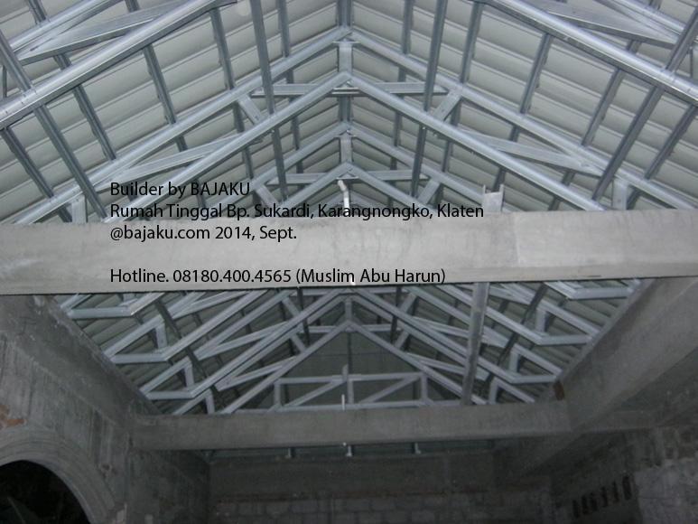 Baja Ringan dan Genteng Metal solusi atap bangunan ringan