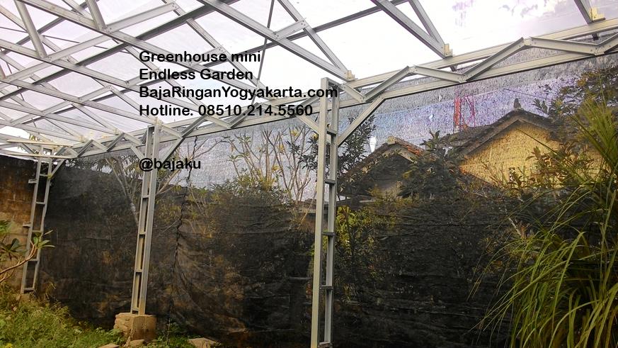 distributor atap baja ringan yogyakarta pembuatan greenhouse dengan oleh bajaku – ...