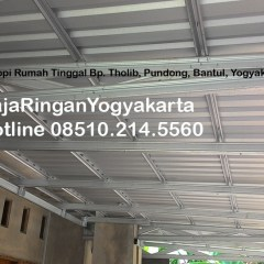 Kanopi Baja Ringan Yogyakarta Proyek Rumah Tinggal Bantul Pundong
