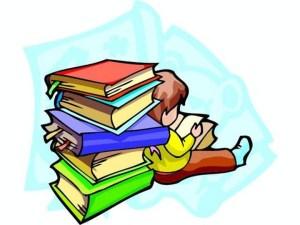 Reserva libros de texto.