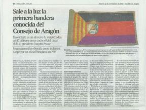 Bandera - Heraldo de Aragón