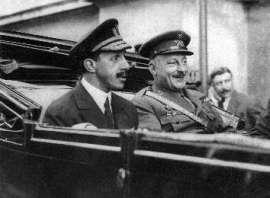 13 de septiembre de 1923. Primera visita del General Miguel Primo de Rivera a Caspe