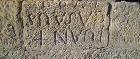 Caspe desconocido y oculto: el epitafio de Juan Casaus