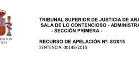 Varapalo judicial para el Tripartito Caspolino. El Tribunal Superior De Justicia de Aragón da la razón al Club Náutico Mar de Aragón.