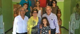 JOSÉ REPÚBLICA. La familia de José Latorre Blasco visita Caspe