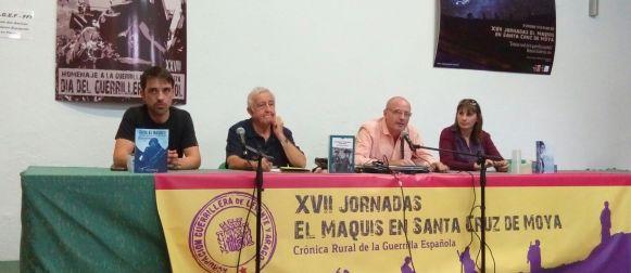 Homenaje y jornadas sobre el maquis en Santa Cruz de Moya
