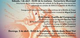 1 y 2 de abril: Jornadas en conmemoración de la Batalla de Caspe