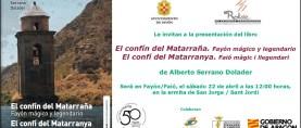 Presentación de El confín del Matarraña. Fayón mágico y legendario, por Alberto Serrano