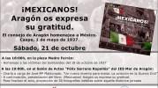 Presentación del libro ¡Mexicanos! Aragón os expresa su gratitud