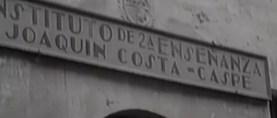 """Caspe, 1932: el desahucio de los franciscanos y la apertura del Instituto de Segunda Enseñanza """"Joaquín Costa"""" (parte II)"""