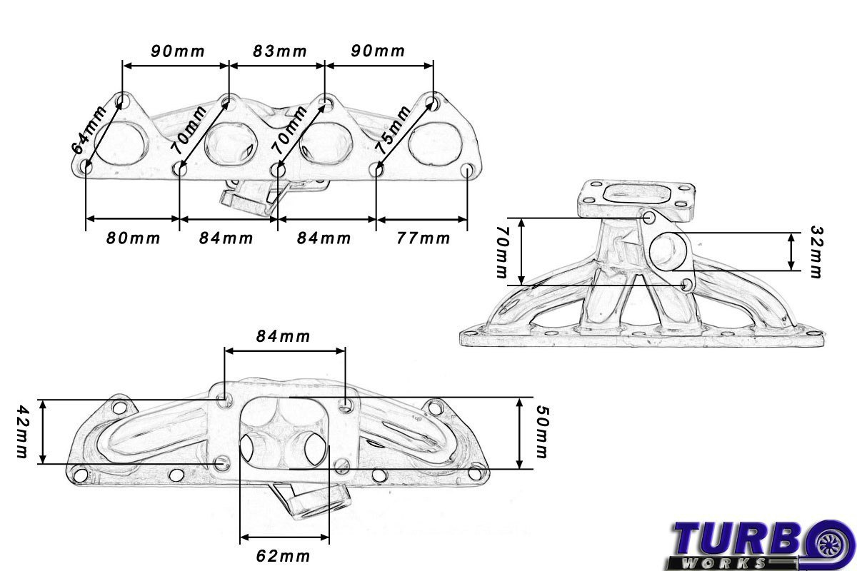 Bajpol Motosport Gt Kolektor Wydechowy Honda Prelude H22