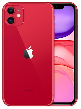 Apple iPhone 11 64GB (Red) from $280.00 on Bell   Lowest Prices from Baka Mobile in Canada